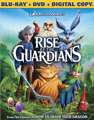 RISE OF THE GUARDIANS BY PINE,CHRIS (Blu-Ray)