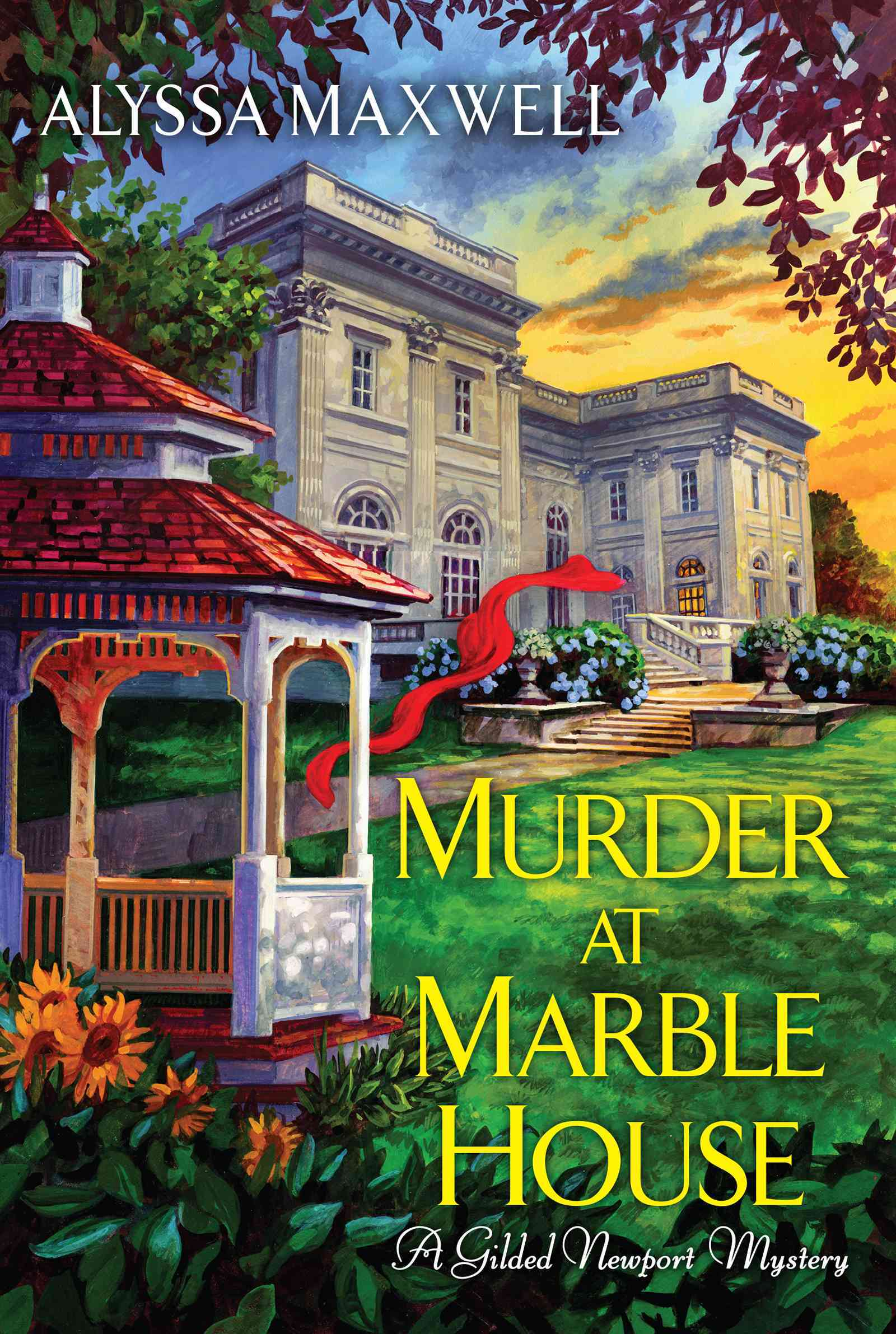 Murder at Marble House By Maxwell, Alyssa